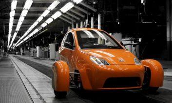 تولید انبوه اتومبیل سهچرخه