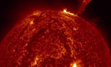 انتشار تصاویر حیرتآور خورشید توسط ناسا