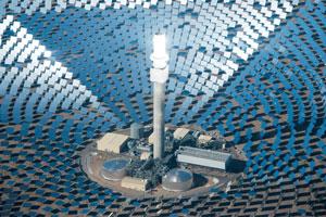 نگاهی به مزرعه خورشیدی نوادا