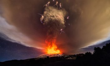 آتشفشانهای خشمگین