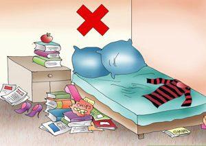 چگونه اتاق خواب خود را فنگشویی کنیم؟
