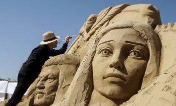 جشنواره مجسمههای شنی