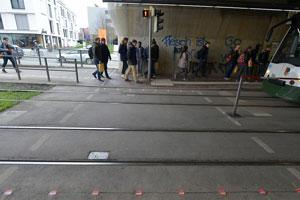 چراغهای راهنمایی و رانندگی جدید آلمان مختص کاربران گوشیهای هوشمند