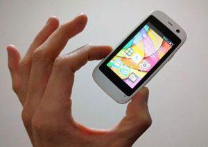 کوچکترین گوشی اندرویدی جهان