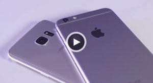مقایسه Galaxy S7 و iPhone 6S plus