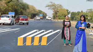 بهکارگیری نقاشی سهبعدی برای کاهش سرعت هندیها