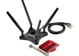 آداپتورPCE-AC88  ایسوس، راهکاری تازه برای استفاده از شبکه بی سیم