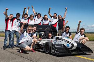 ثبت رکورد سریعترین اتومبیل الکتریکی جهان