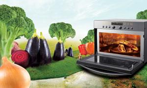 مایکروویو سولاردام ال جی؛ سبک زندگی آشپزخانه ای شما را متحول میکند