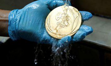 کارگاه ساخت مدالهای المپیک سال ۲۰۱۶ ریو