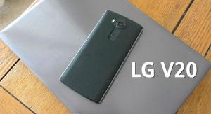 گوشی جدید LG V20، اولین گوشی هوشمند دارای اندروید ۷ نوقا در دنیا