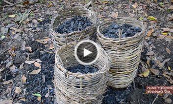 درست کردن زغال
