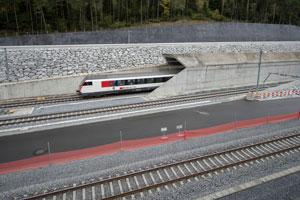 درازترین تونل قطار جهان