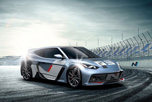 رونمایی از اتومبیل کانسپت جدید هیوندای