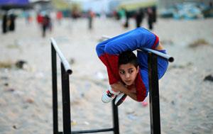 پسر عنکبوتی غزه
