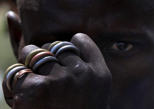 کارگران معدن طلا در نیجریه