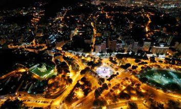 نمای هوایی محل برگزاری المپیک ریو