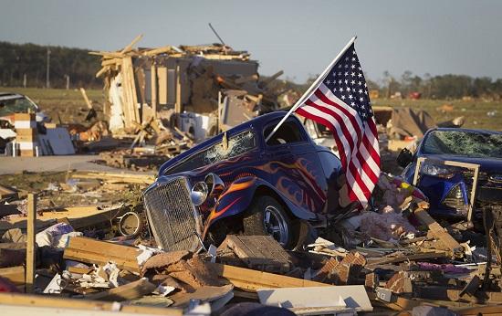 گردباد مرگبار جنوب آمریکا را درهمنوردید
