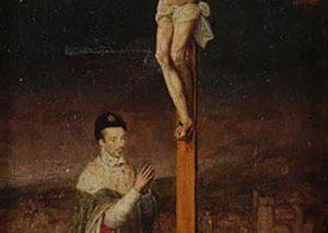 تصویری از پادشاه فرانسه که از موزه لوور برداشته شده بود در یک حراجی پیدا شد