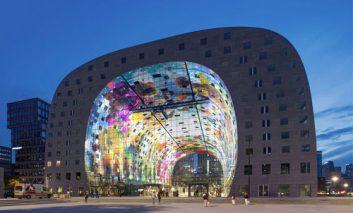 مرکز تجاری – مسکونی Markthal روتردام
