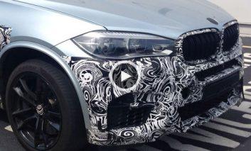 ویدئوی تبلیغاتی و تصاویر لو رفته BMW X5 M و X6 M مدل ۲۰۱۵