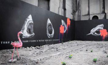 دزدیده شدن آثار گرافیتی «بَمبی» به ارزش ۲۰هزار پوند