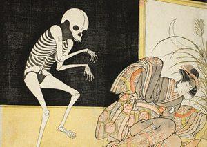 ارواح و شیاطین در چاپهای ژاپنی