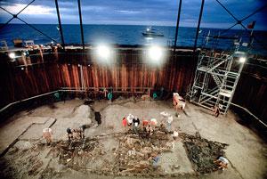 کشتی شکسته «لا بل» که بیش از ۳۰۰ سال پیش غرق شد