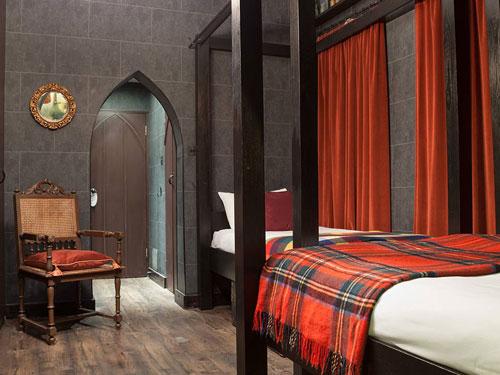 هتلی به سبک هری پاتر