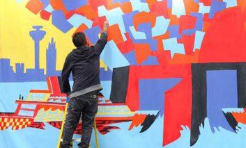 «بریتانیا را رنگ کن»؛ پروژهای در ستایش رنگ
