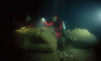 گنج غرق شده در مصر به تور اروپا میرود