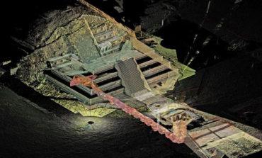 حفاری اسرار ۱۸۰۰ ساله از معبد مار بالدار