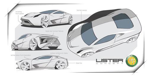 بازگشت پرسروصدای Lister Cars با یک اتومبیل فوقسریع ۳ میلیون دلاری