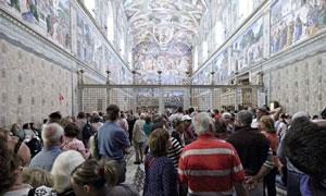 انقلابی جدید در سیستم روشنایی کلیسای سیستین واتیکان