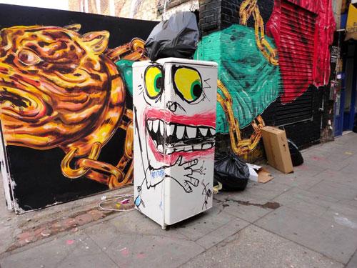خلق هنر با زبالههای خیابانی
