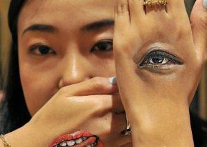 هنر نقاشی بر روی بدن در ژاپن