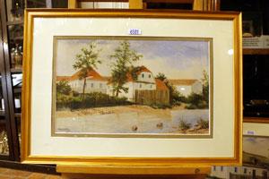 نقاشی آبرنگ هیتلر به فروش میرسد