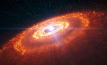 عکسی انقلابی در نظریه شکلگیری سیارهها