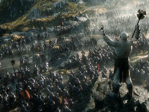 انتشار تریلر جدید «The Hobbit: The Battle of the Five Armies»