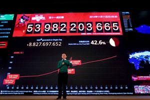 فروش آنلاین ۹.۳ میلیارد دلاری گروه Alibaba در «روز مجردها»ی چین