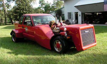یک اتومبیل عجیب و غریب!!