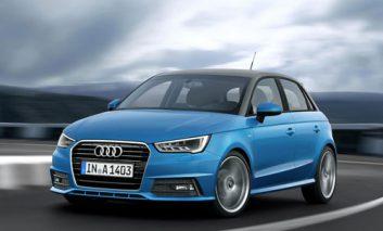 رونمایی از ظاهر جدید Audi A1
