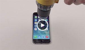 سوراخ کردن آیفون ۶ با دریل! + ویدیو