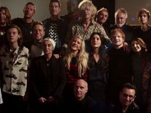 جمع آوری ۱ میلیون پوند در ۵ دقیقه بعد از پخش ویدیو «Band Aid 30»