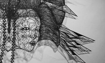 خلق آثار هنری عظیم با برشهای کاغذ