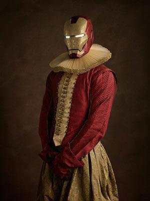 ابرقهرمانان در لباسهای قرن شانزدهمی