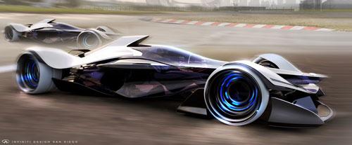 اتومبیل کانسپت شگفتانگیز شرکت Infiniti شما را به اتومبیل قفل میکند!