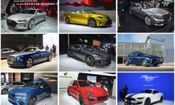 ۱۰ اتومبیل برتر LA Auto Show 2014