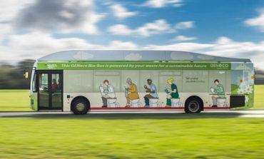 اتوبوسی که سوختش فضولات انسانی است!  + ویدیو