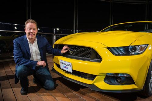 ساخت شگفتانگیز یک اتومبیل Mustang در بالای برج خلیفه! + ویدیو